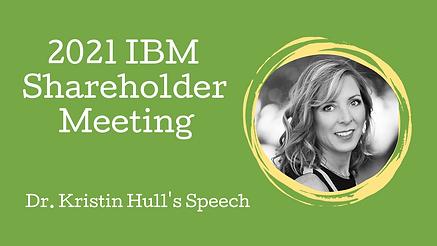 ibm shareholder meeting banner