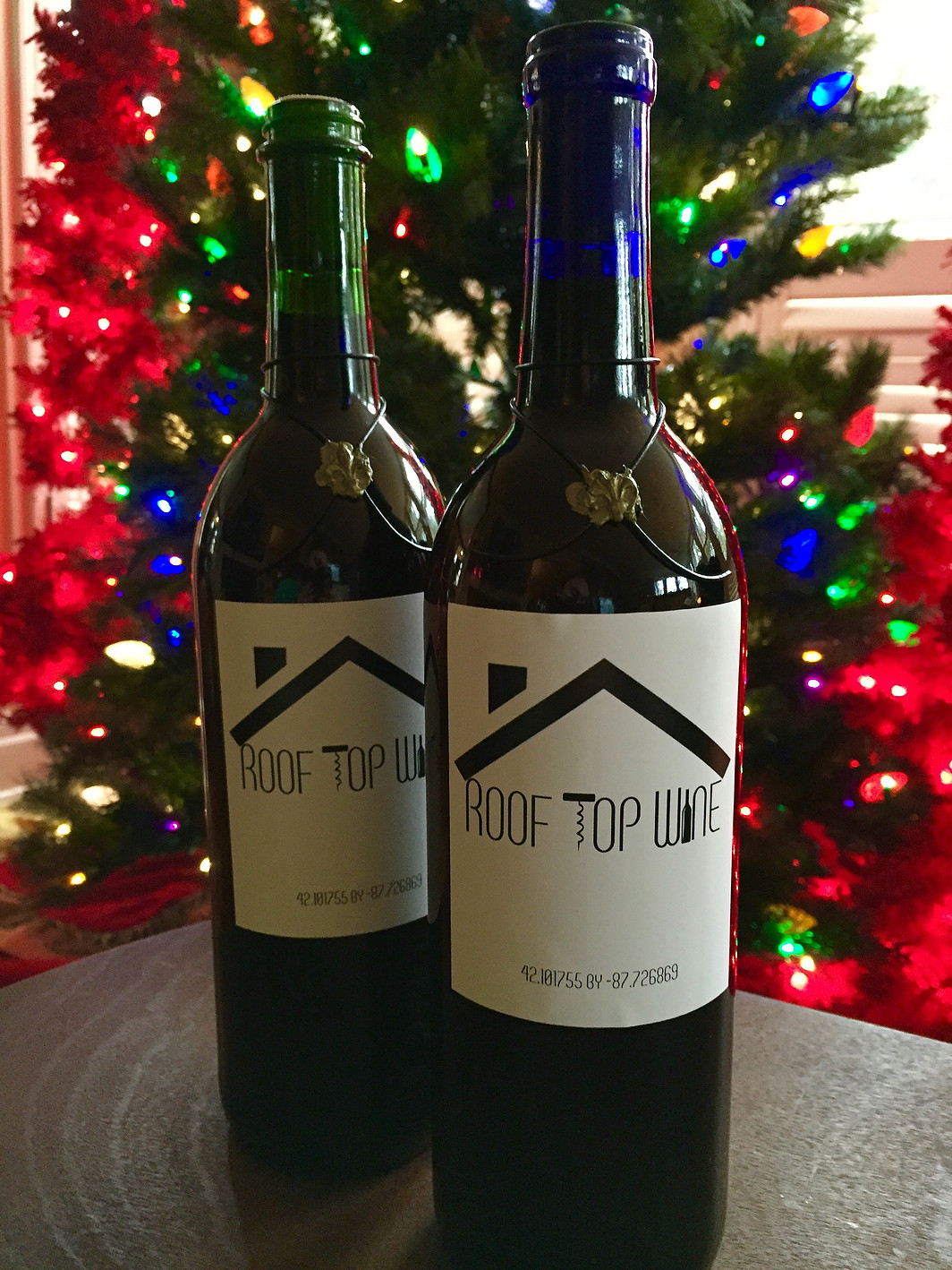 Roof Top Wine Label