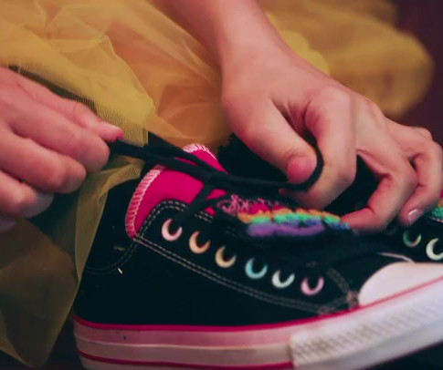 Millie Bobby brown x Converse (Ad 2)