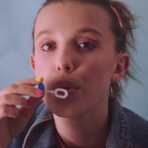 Millie Bobby brown x Converse (Ad 1)