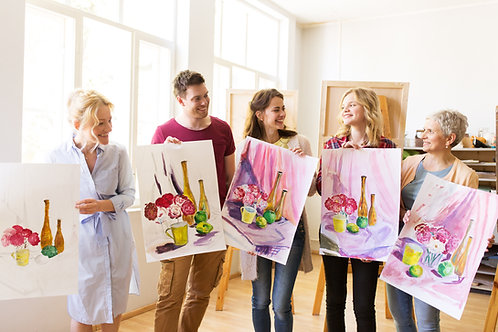 Paint and Sip Classes - Saturday at 7:30 pm