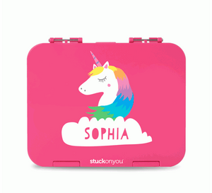 Large Personalised Bento - Fun, choose your colour, design and font HK$ 279.20 at stuckonyou.hk