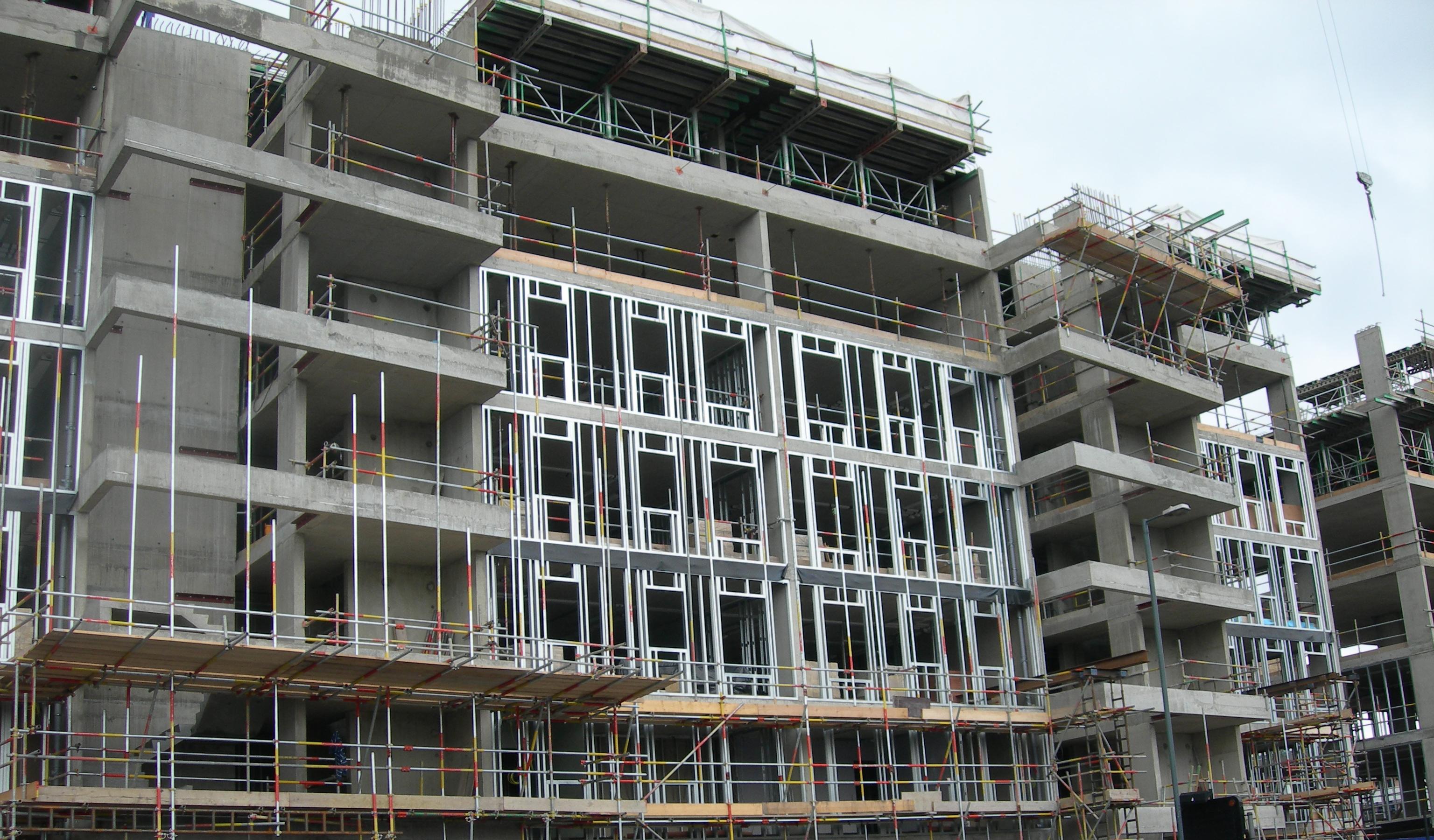 Steel Frame Infill Walling