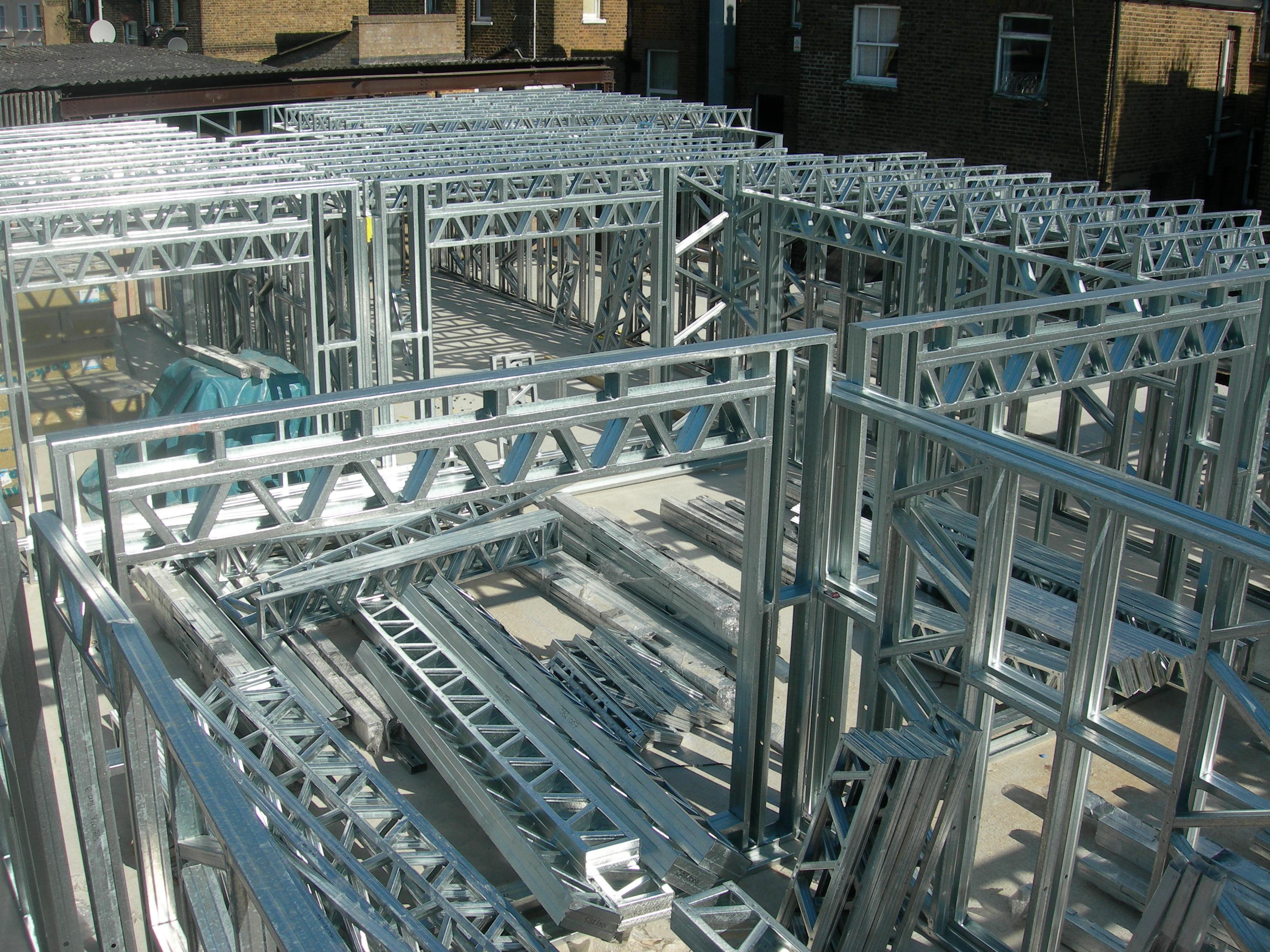 Steel Frame Full Build