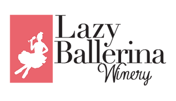 This is the Logo for the Lazy Ballerina Winery