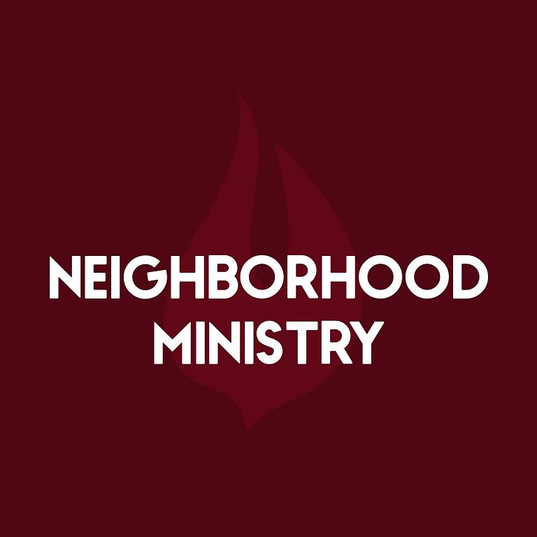 Neighborhood Ministry Volunteer Sign Up
