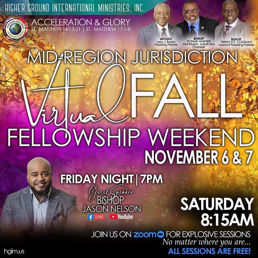 Mid-Region Jurisdiction Virtual Fall Fellowship Weekend