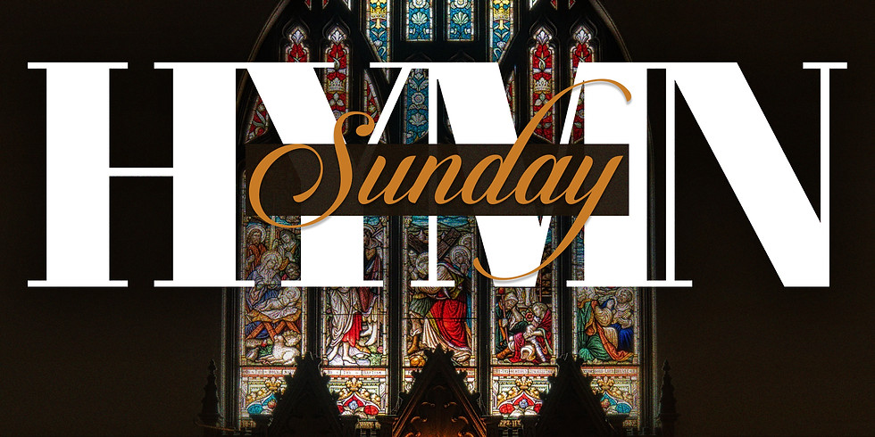 RSVP for Service: Hymn Sunday March 14th