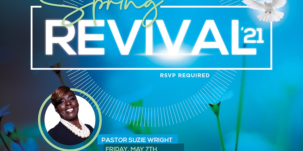 RSVP for Service: Sunday May 9th