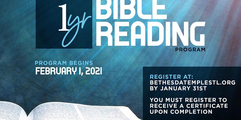 BTBI 2021 Bible Reading Program
