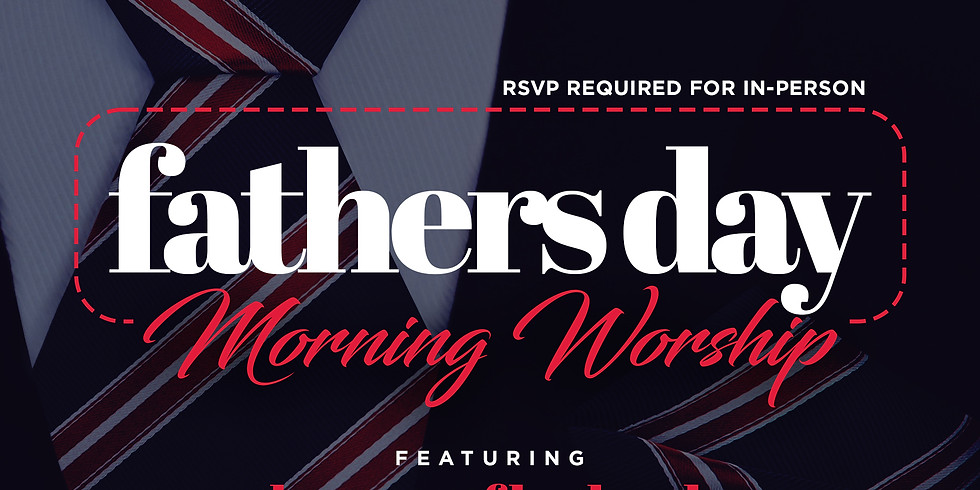 RSVP for Service: Sunday June 20th
