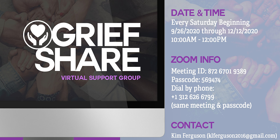 GriefShare:Virtual Support Group