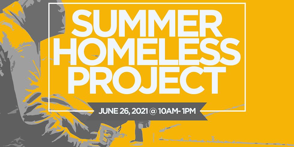 Summer Homeless Project (Volunteers Needed)