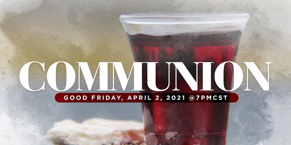 RSVP for Service: Communion April 2nd