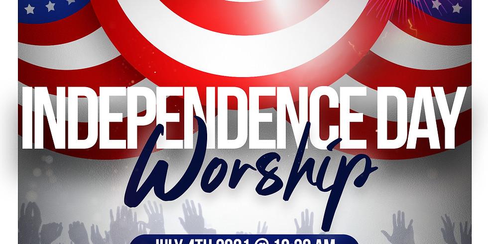RSVP for Service: Sunday July 4th