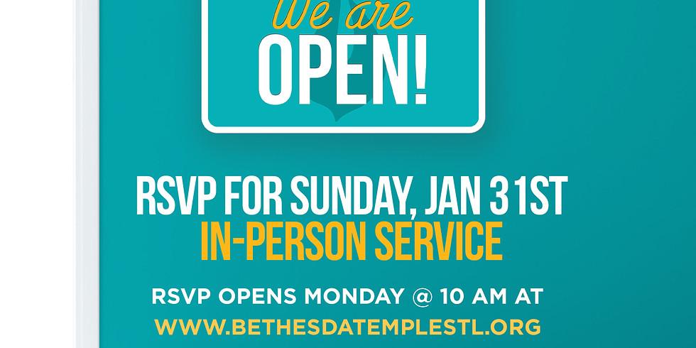 RSVP for Service Jan 31st: Virtual Corporate Prayer