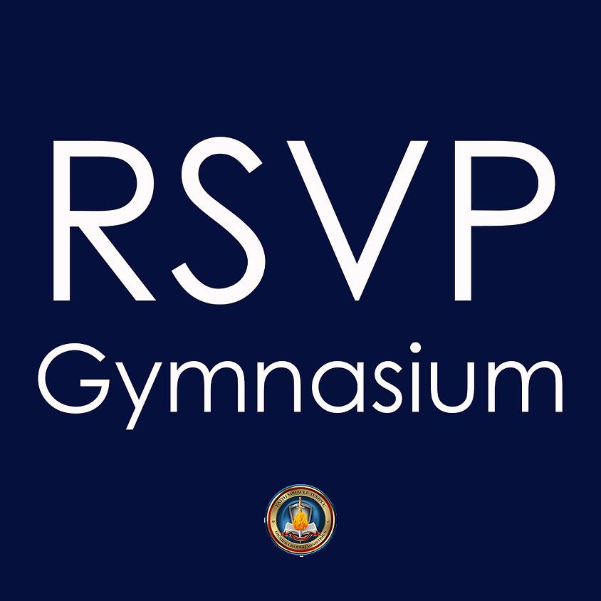 TEST RSVP: GYM SUNDAY FEB 31ST