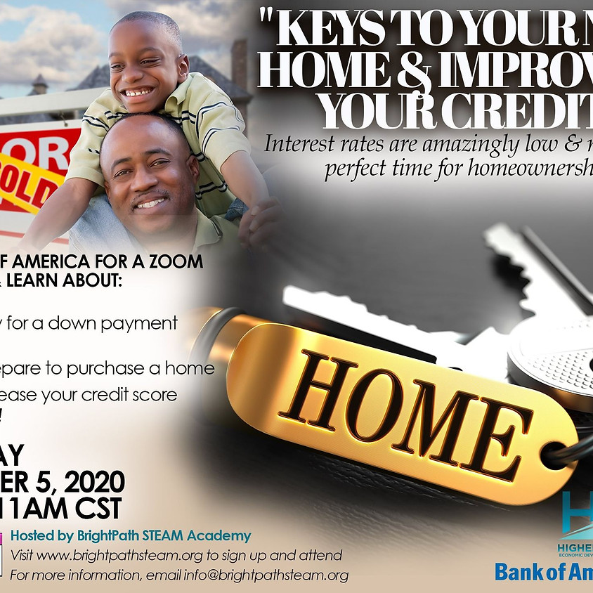 Keys to Your New Home & Improving Your Credit