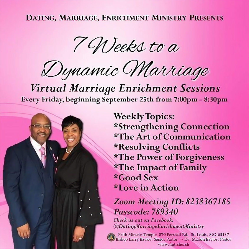 7 Weeks to a Dynamic Marriage