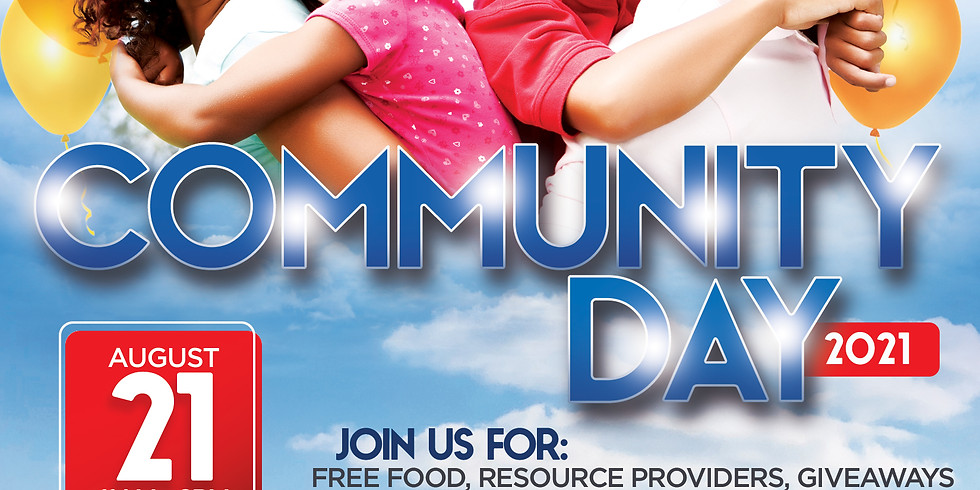 Community Day 2021 (Volunteers Needed for 8.20.21)