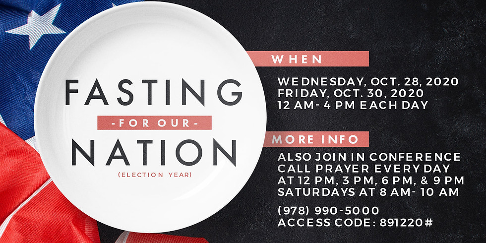 Fasting For Our Nation