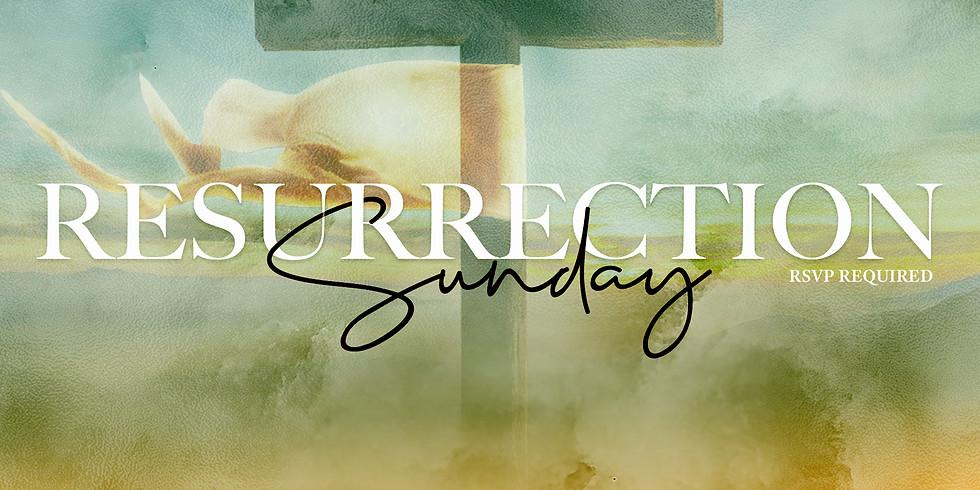 RSVP for Service: Resurrection Sunday April 4th
