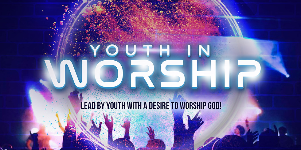 RSVP for Service: Youth In Worship, Sunday June 13th