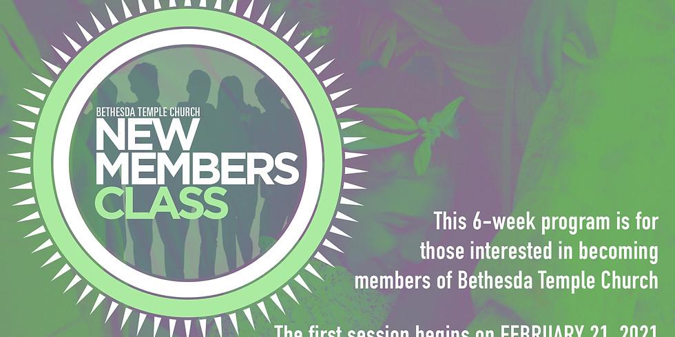 BTC New Members Registration