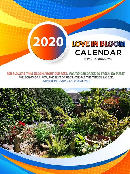 Calendar - Love In Bloom - 2020