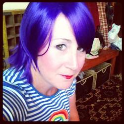 New Rainbow Hair!  April 2014