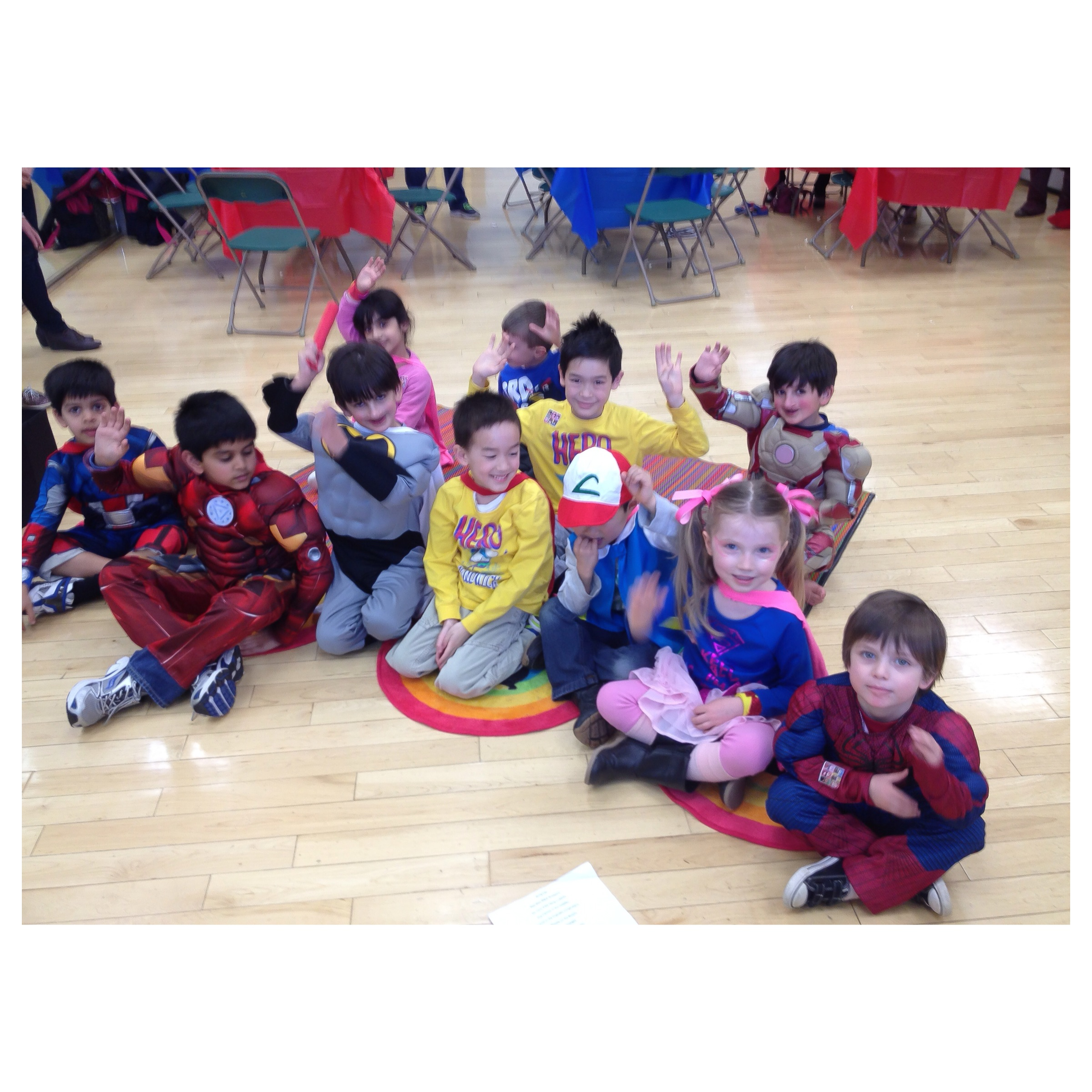 Superhero Birthday Party March 2014