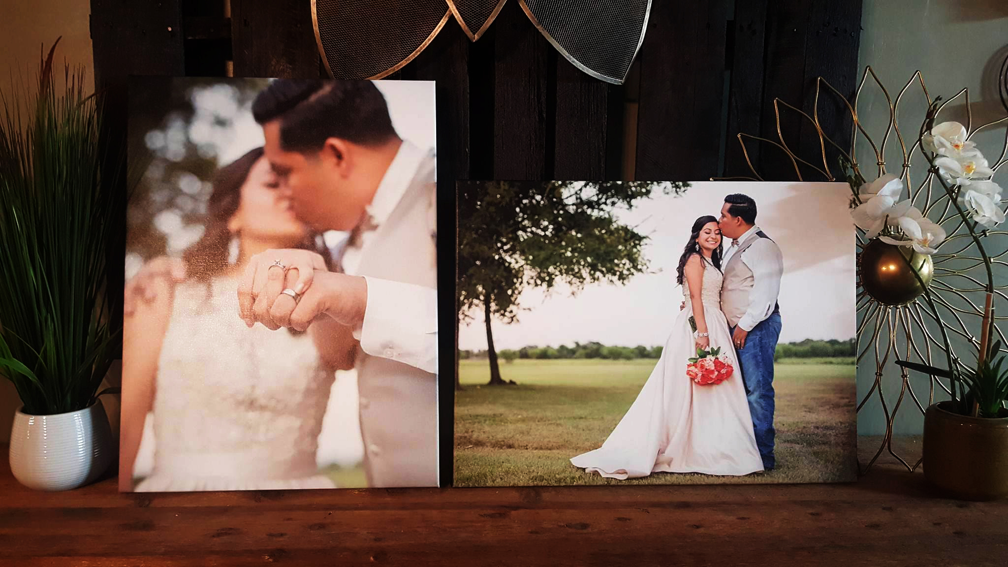 Wedding Photo canvas