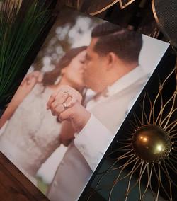 16 x 20 wedding photo canvas