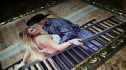 24 x 30 framed canvas photo