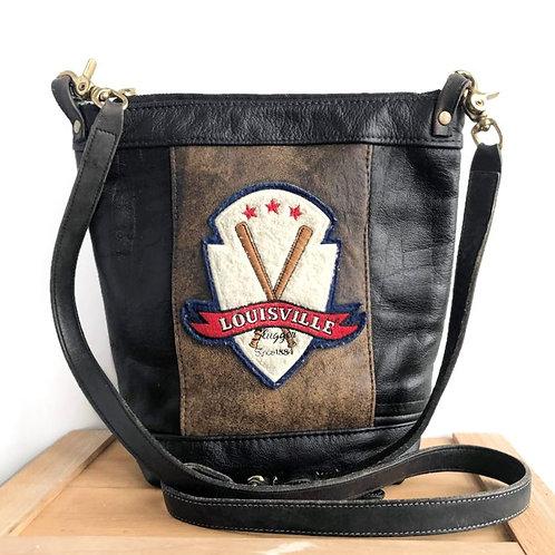 Upcycled Vintage Leather Louisville Jacket Shoulder Bag
