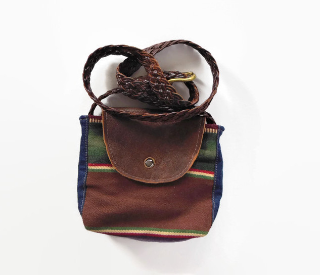 Small Upcycled Blanket Purse.jpg