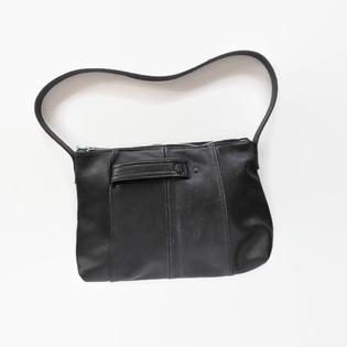 Upcycled Black Leather Jacket Purse.jpg
