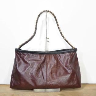 Upcycled Leather Shoulder Bag