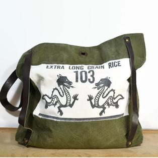Vintage Dragon Rice Bag