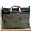 Thumbnail: Extra-Large Upcycled Canvas Weekend Bag / Carry On