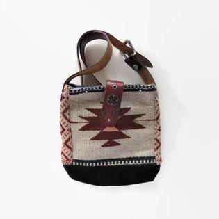 Upcycled Vintage Chimayo Blanket Purse.j