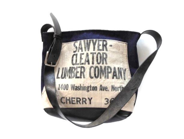 Vintage Sawyer Cleater Lumber Apron and Denim Bag.jpg