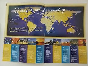 Around the world in 23 days