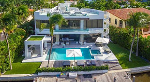 Houses for sales in Miami, Florida, USA