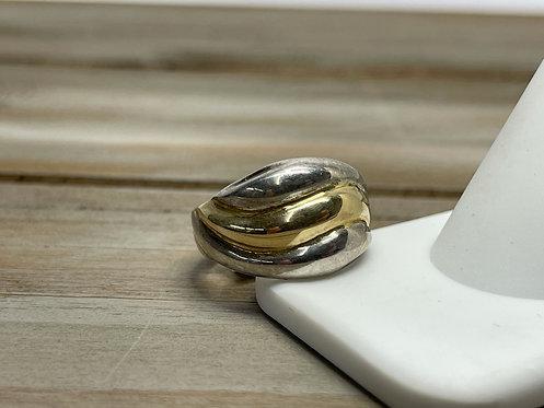14K Wide Ring
