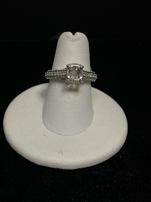 14KWG Diamond Mount Ring RG-3129