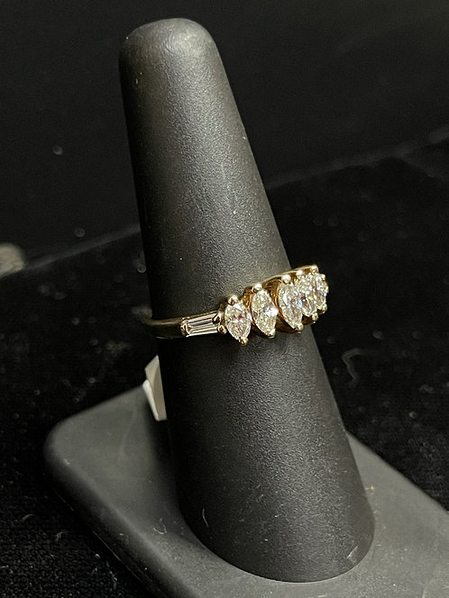 Marquise Anniversary Ring