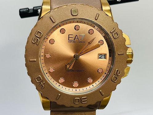 Armani Exchange Rose Gold Watch
