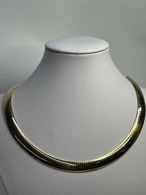 14KYG Omega Necklace