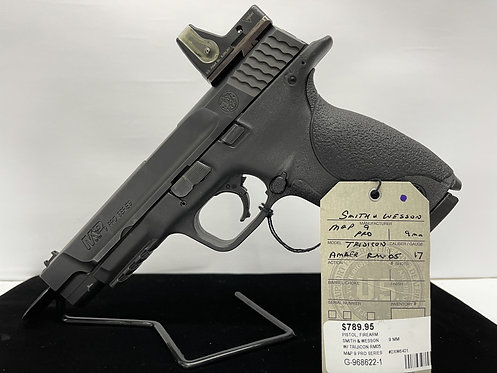 Smith & Wesson M&P 9 Pro Series w/ Trijicon RM05